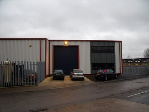 Industrial units, Aylesbury